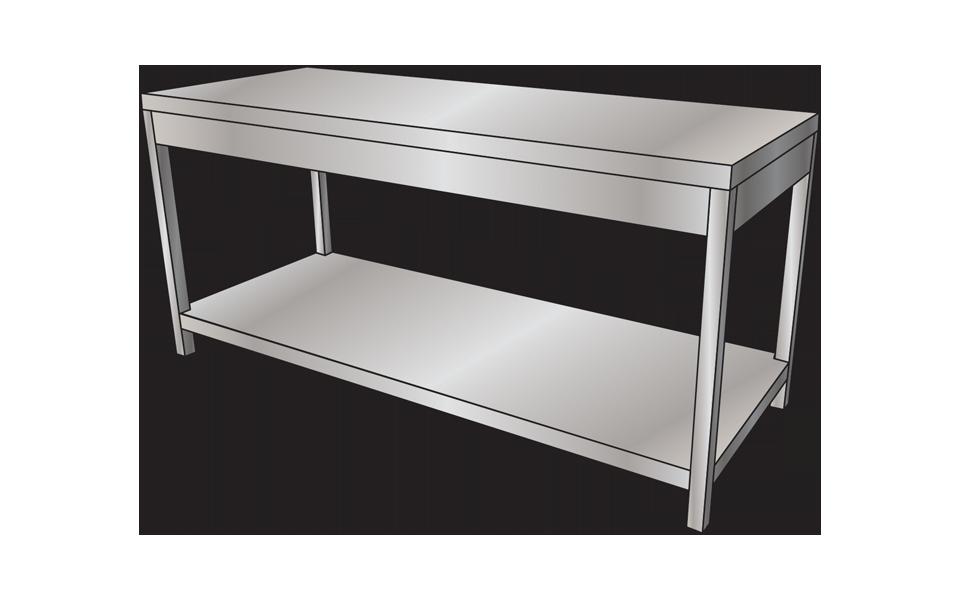 Πάγκοι - Τραπέζια Inox από την Stock Inox