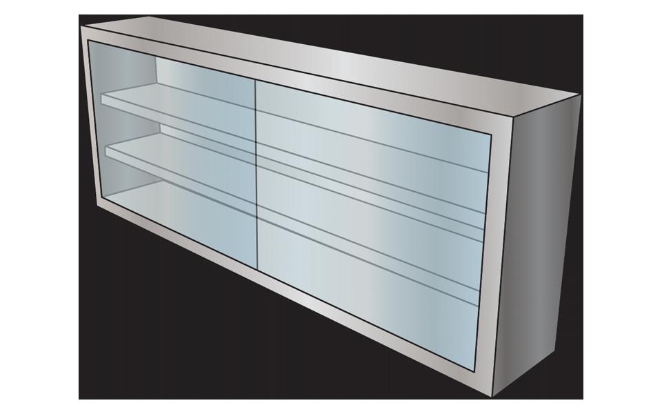Κατασκευή ανοξείδωτα Ερμάρια τοίχου (Ποτηριέρες-Πιατοθήκες)