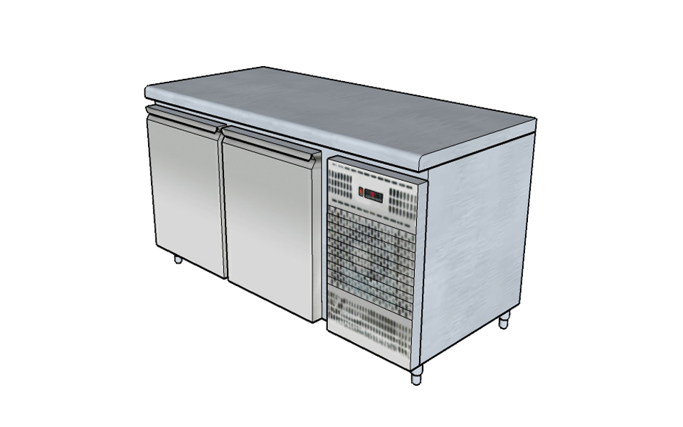 Ψυγείο Πάγκος - Εξοπλισμός Εστίασης Stock Inox