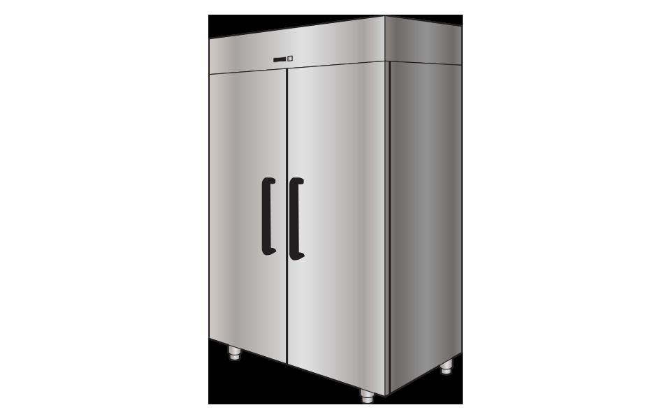 Ψυγείο Θάλαμος Επαγγελματικό Ανοξείδωτο - Stock Inox