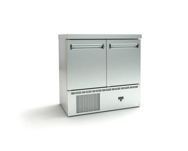 Επαγγελματικό Ψυγείο Πάγκος Inox με Πόρτες - Εξοπλισμός Καταστημάτων