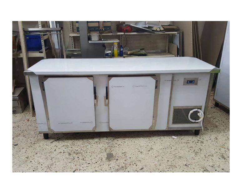 Ψυγείο Πάγκος με 2 πόρτες από 690€ - Επαγγελματικός Εξοπλισμός Κουζίνας