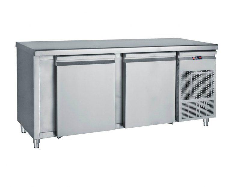 Ψυγείο Πάγκος Inox Συντήρηση με μεγάλες πόρτες