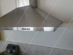 Απορροφητήρας Inox Compact Ανθρακα Νο 1103