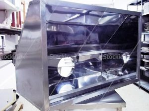 Εσωτερικό Φούσκας Τοίχου Εξαερισμού Νο 1306 Inox - Επαγγελματικός Εξαερισμός Κουζίνας Inox