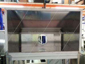 Εσωτερικό Φούσκας Τοίχου Κατασκευής μας Inox Νο 1315 - Επαγγελματικός Εξαερισμός Κουζίνας Inox