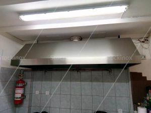 Φούσκα Τοίχου Νο 1333 Τύπου Καπέλο Κλασική - Επαγγελματικός Εξαερισμός Κουζίνας Inox