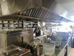 Αεραγωγός σε Φούσκα Εξαερισμού Inox - Εσωτερικό - Εξαερισμός Κουζίνας Επαγγελματικός Inox