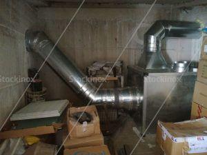 Κανάλι Εξαερισμού Κουζίνας Inox - Αεραγωγός - Επαγγελματικός Εξαερισμός Κουζίνας Inox