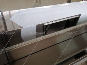Κατασκευή Φούσκας Κέντρου Νο 1327, 500x160 στο Εργαστήριο μας - Επαγγελματικός Εξαερισμός Κουζίνας Inox