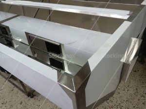 Κατασκευή Φούσκας Κέντρου Νο 1321, 500x160 στο Εργαστήριο μας - Επαγγελματικός Εξαερισμός Κουζίνας Inox
