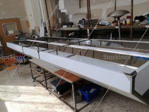 Κατασκευή Φούσκας Κέντρου Νο 1324 500x160 στο Εργαστήριο μας - Επαγγελματικός Εξαερισμός Κουζίνας Inox