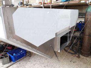 Κατασκευή Φούσκας Κέντρου Νο 1325 500x160 στο Εργαστήριο μας - Επαγγελματικός Εξαερισμός Κουζίνας Inox
