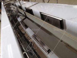 Κατασκευή Φούσκας Κέντρου Νο 1326 500x160 στο Εργαστήριο μας - Επαγγελματικός Εξαερισμός Κουζίνας Inox