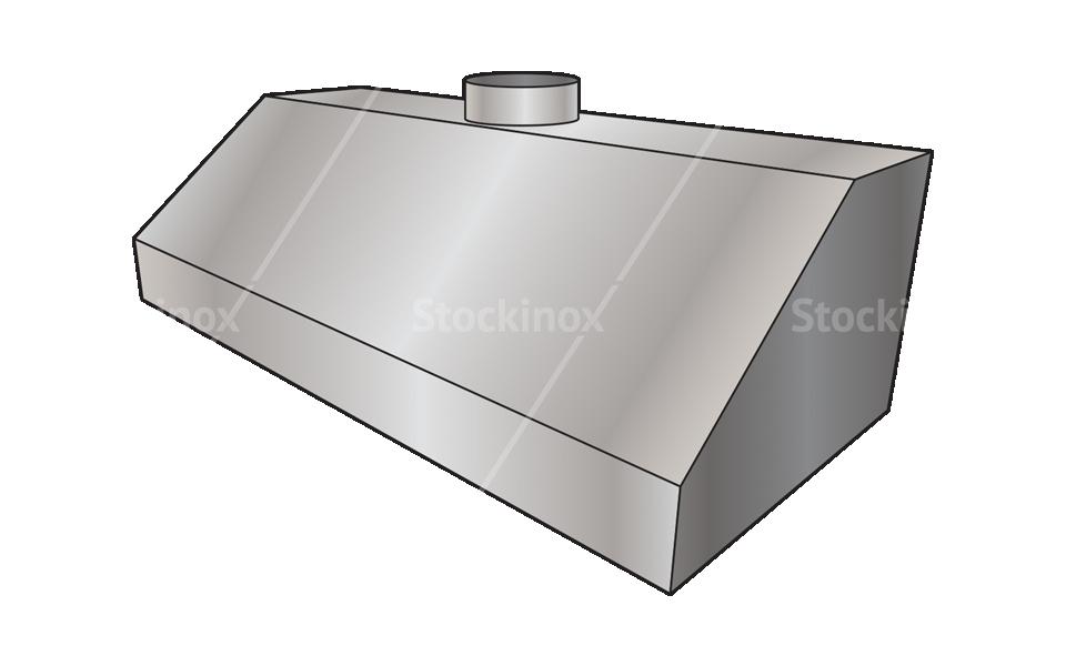 Φούσκα Εξαερισμού (Χοάνη) Inox - Εξαερισμός επαγγελματικής κουζίνας Stockinox