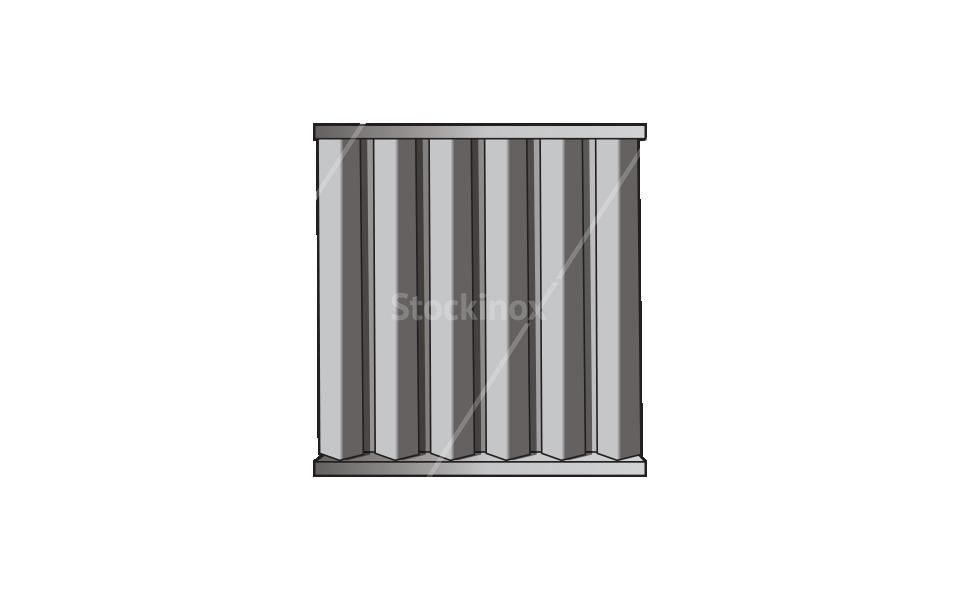 Φίλτρα Φούσκας Inox & Άνθρακα - Εξαερισμός Επαγγελματικής Κουζίνας