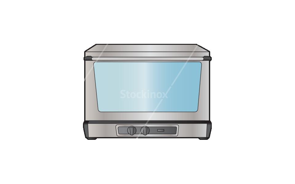 Φούρνος Επαγγελματικός Κυκλοθερμικός (Αερόθερμος) - Εξοπλισμός Εστίασης Stockinox