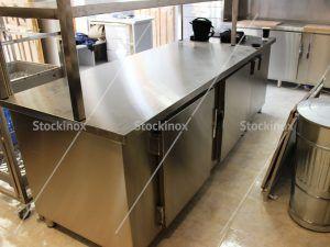 Ψυγείο Πάγκος Inox Ειδικής Κατασκευής