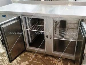 Ψυγείο - Πάγκος Inox με Σήκωμα Πίσω - Επαγγελματικά Ψυγεία Πάγκοι Inox