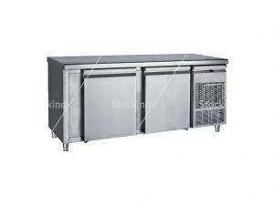 Ψυγείο - Πάγκος Inox Μεγάλες Πόρτες PM7 185 - Επαγγελματικά Ψυγεία Πάγκοι Inox