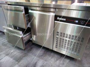 Ψυγείο - Πάγκος Inox με Συρτάρια & Πόρτες GN Inomak - Επαγγελματικά Ψυγεία Πάγκοι Inox