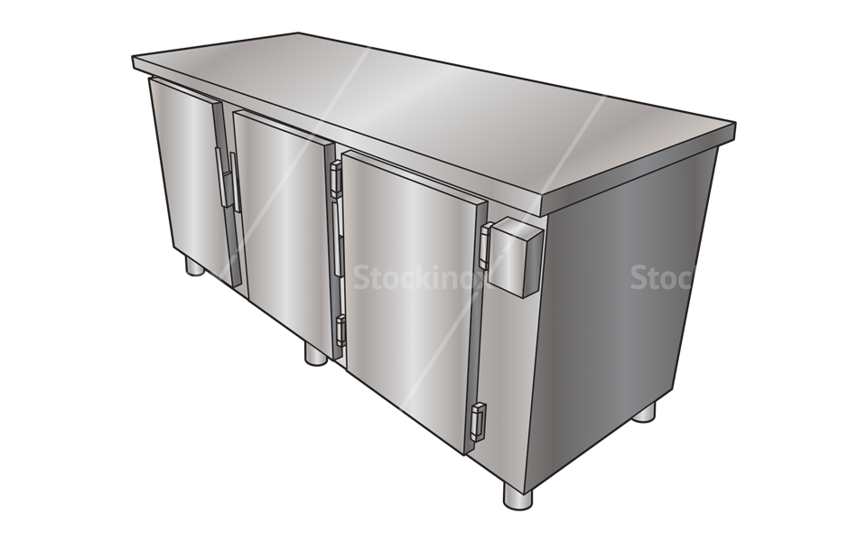 Ψυγείο Πάγκος Επαγγελματικό Inox - Επαγγελματικές Συσκευές Εστίασης Stockinox