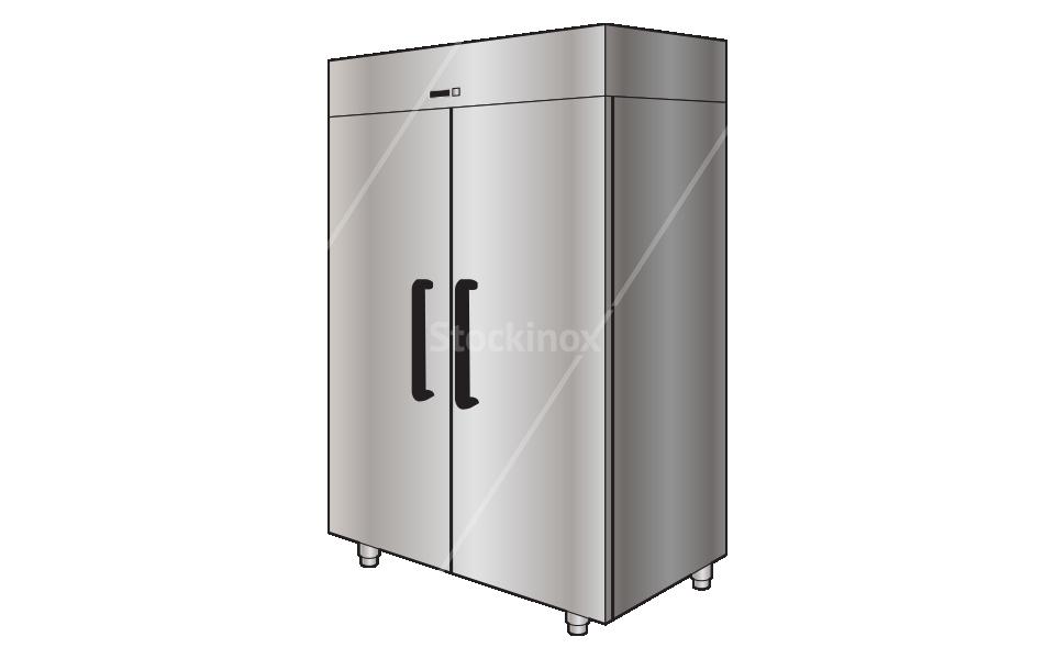Ψυγείο Θάλαμος Κατάψυξη Όρθιο Επαγγελματικό Inox